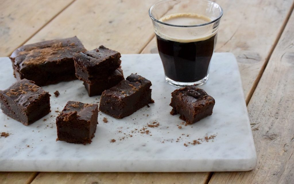 Courgette brownie - puur suzanne