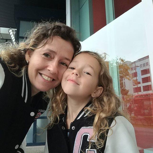 Shoppen met dochter Lotte