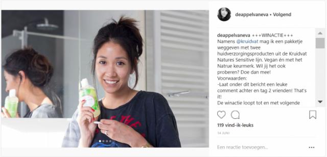 De Appel van Eva - Kruidvat Natures - Instagram - winactie