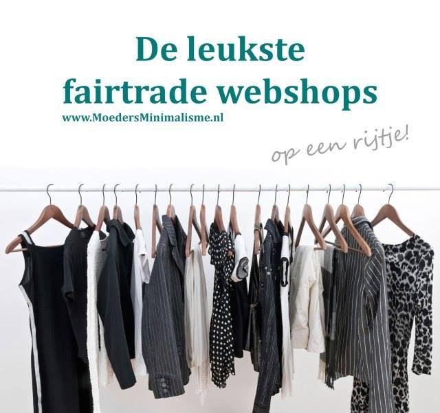 De leukste fairtrade webshops - Moeders minimalisme