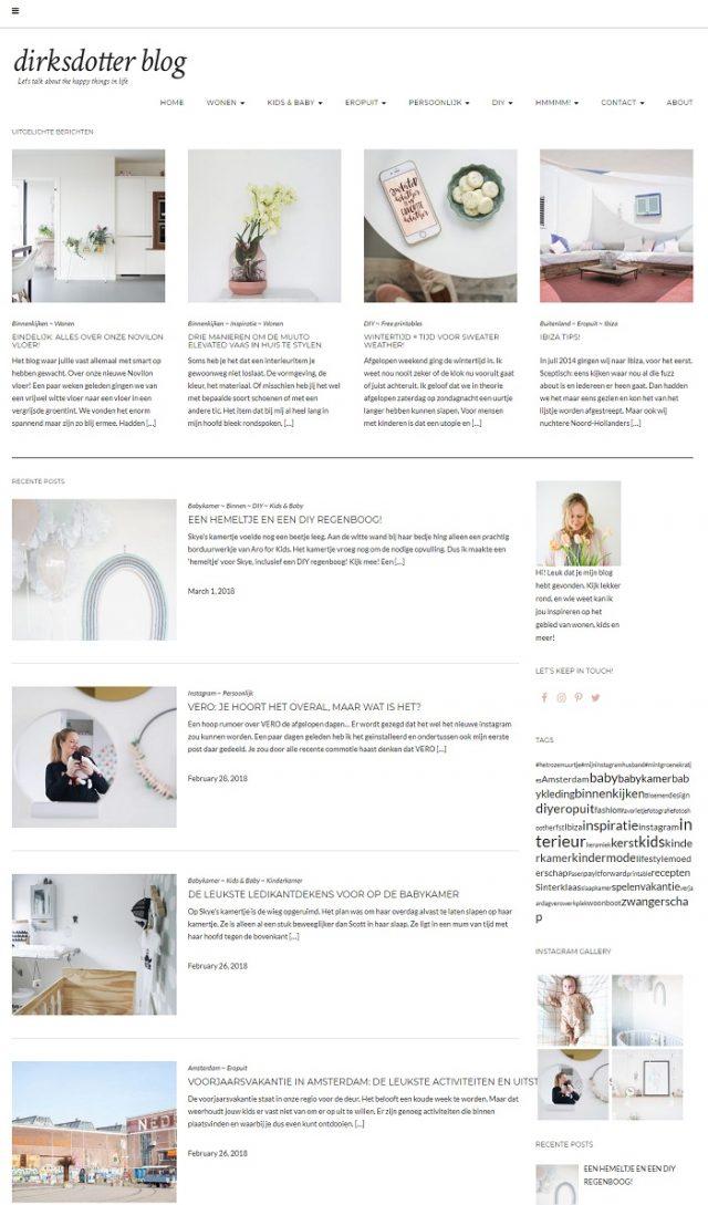 Homepage dirksdotter
