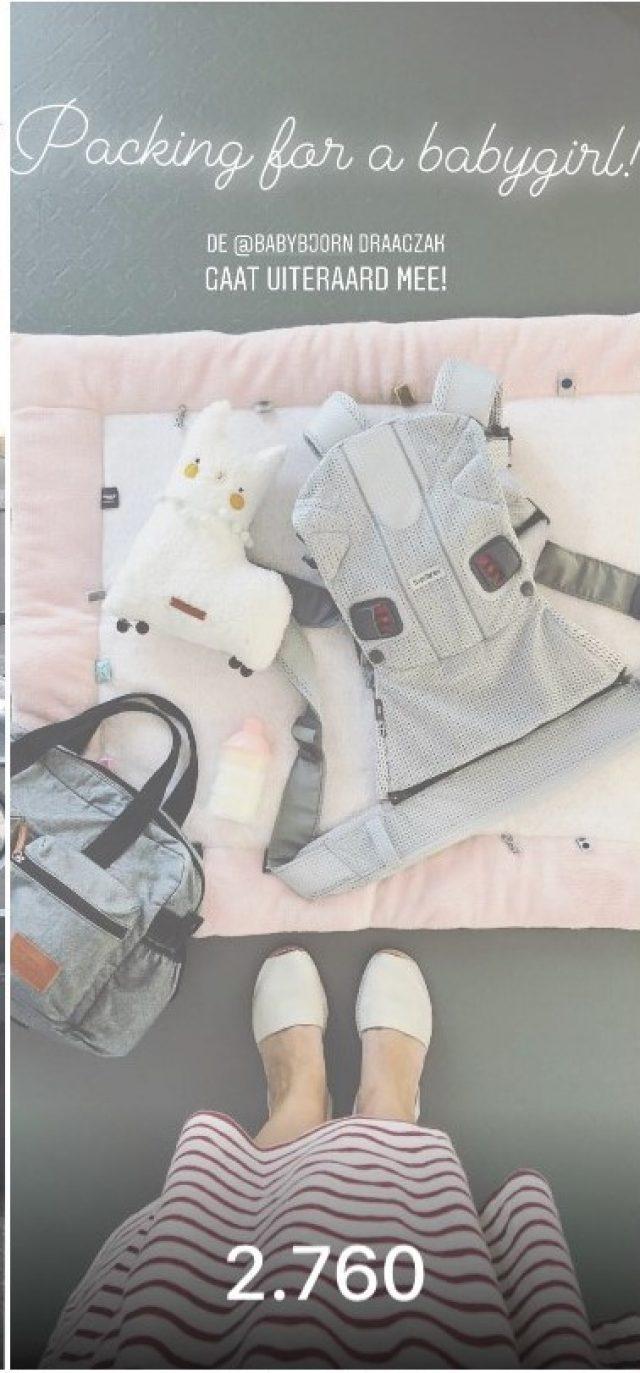 nstagram story Dirksdotter Babybjorn
