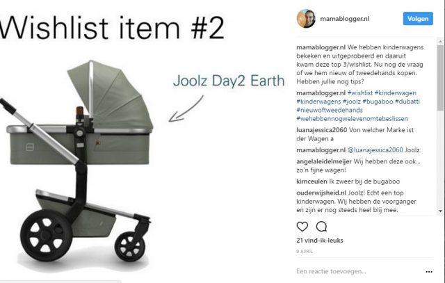 Mamablogger Instagram promotie