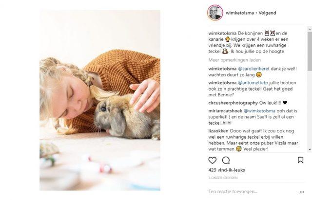 Instagram Wimke Tolsma