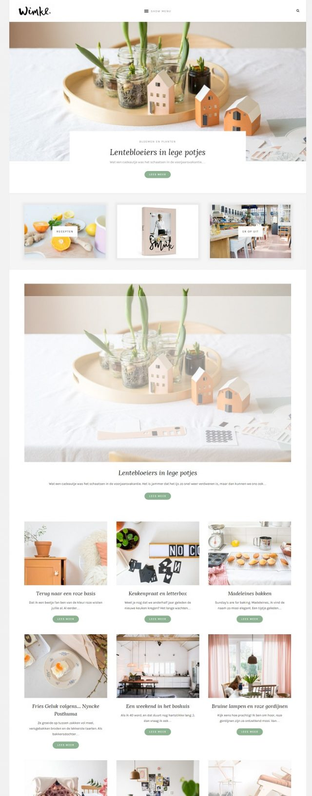 Homepage blog Wimke Tolsma