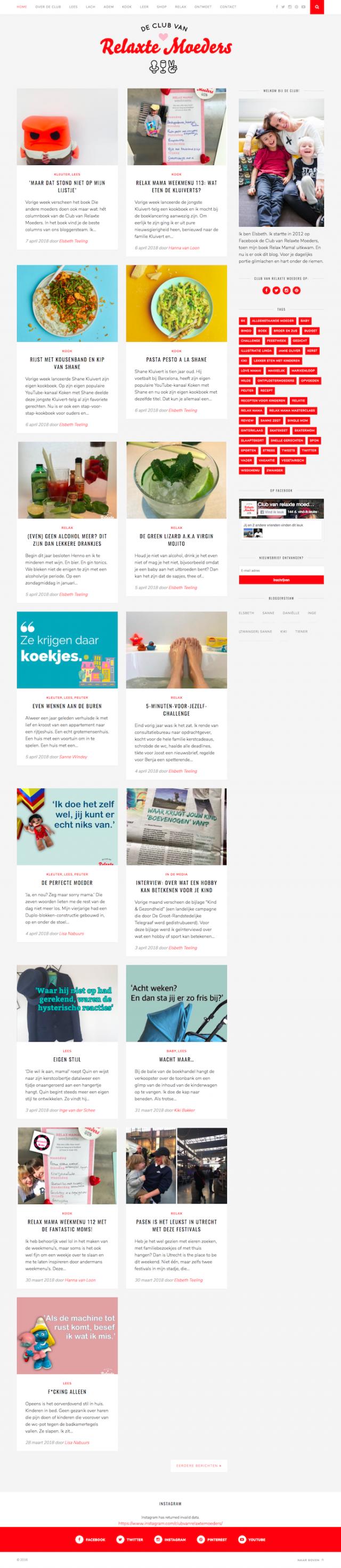 Homepage De Club van Relaxte Moeders